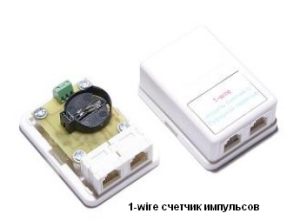 1-wire модуль счетчик с буферной памятью 2 канала