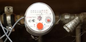 Считывание показаний счетчика воды - подсчет импульсов